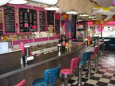 Goodies 50's Style Ice Cream Parlor..I'd like to have my own similar to this.