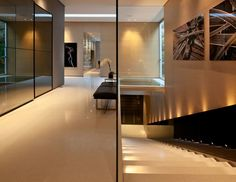 Interior of the most minimalist house