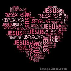 A <3 for Jesus!