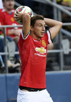 Matteo Darmian in action in Seattle against Club America.