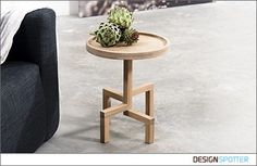 ROOTS is a special oak side table. He firmly stands on its stylized roots waiting for you. I try to capture nature in my own idiom of angles and proper proportions.Length: 39 cmWidth: 39 cmHeight: 45 cm