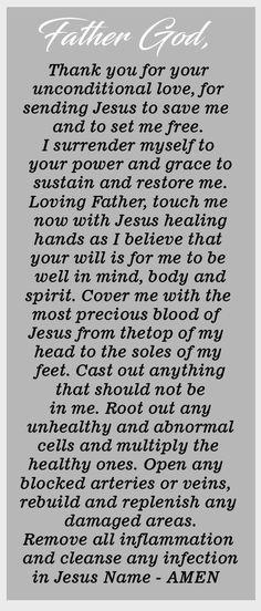 Prayer Scriptures, Bible Prayers, Catholic Prayers, Faith Prayer, God Prayer, Power Of Prayer, Prayer Quotes, Faith Quotes, Deliverance Prayers