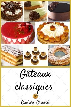 French Dessert Recipes, Cake Recipes, Cakepops, French Meat Pie, French Pastries, Base, Cake Decorating, Sweet Treats, Cheesecake