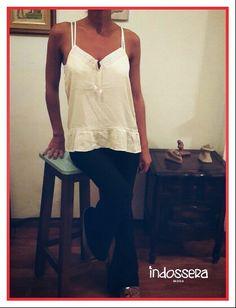outfit: calza oxford + muscu indu