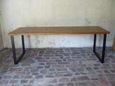 Tölgy asztal hosszú régies | Igazifa Design
