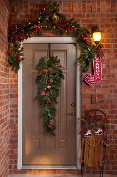 Front door environment photography
