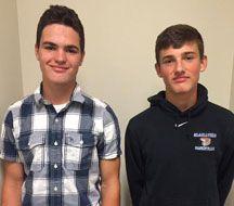Matt Wierzbicki and Sean Colgan are Goshen Gladiator Student-Athletes of the Week.