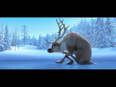 Frozen | Disney First Look Trailer (2013)  This may be the cutest snowman I've ever seen.