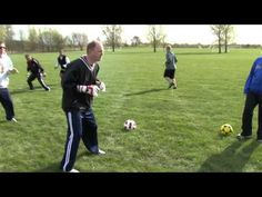 Line Drill Foot Work for Soccer Goalkeepers