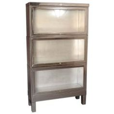 Stacking Metal Barrister's Book Case
