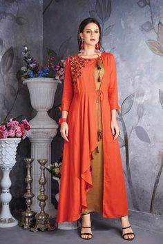Whatsapp 9377709531 bulk wholesale wholesalesupplier wholesaledealer bulksupplier bulkdealer kurti kurta wholesaler styl is part of Cotton gowns - Sleeves Designs For Dresses, Dress Neck Designs, Muslim Dress, Hijab Dress, Saree Dress, Dress Outfits, Shweshwe Dresses, Cotton Gowns, Kurti Embroidery Design