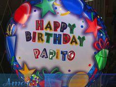 Mensajes especiales en globo, con calcomanias de letras. www.regalosamer.com.mx