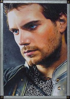 Blue Eyed Knight (Charles Brandon of The Tudors played by the GORGEOUS Henry Cavill) by *DavidDeb on deviantART