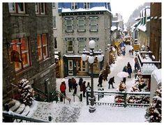 Quebec City: Canada's most historic city.