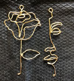 Available in gold fill, sterling silver, copper and brass. Double face or double rose also available, please request in the. Copper And Brass, Hoop Earrings, Sterling Silver, Metal, Unique Jewelry, Floral, Gold, Eye, Lady