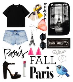 """""""#parisfall"""" by mackenziefoxy7 ❤ liked on Polyvore featuring Sonia Rykiel, Lancôme, 3x1, Chanel, Bling Jewelry and Alexis Bittar"""