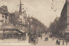 Le boulevard du Palais vers 1905.