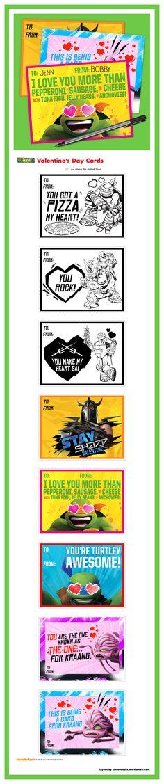 Valentine Day Cards, Ninja Turtles, Tmnt, Creations, Ideas, Turtle, Valentine Ecards, Thoughts