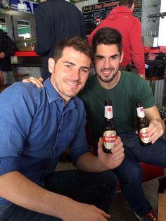 Iker Casillas e Isco Alarcón