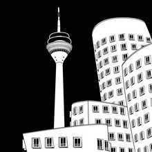 Düsseldorf, Neuer Zollhof