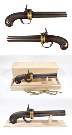 輪転式管打銃  [antique gun]  antigua arma japonesa