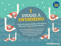 Glide through sending Christmas gifts and cards - save money by sending items Second Class #CABxmas