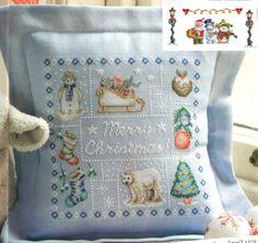 Feliz Natal: Almofada de Natal