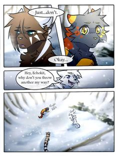 Pg SR Comic: Pg 111 Pg Pg SR Comic: *Redone* Original version (for those who still want to read. Warrior Cats Comics, Warrior Cat Drawings, Warrior Cats Fan Art, Cat Comics, Bff Quotes Funny, Cat Reading, Anime Wolf, Cute Animal Drawings, Kittens Cutest