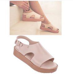 Gorgeous #Melissa sandals now at #Nicci #fashion #trend