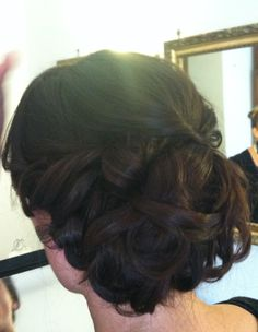 Bridal updo in Rome, Italy by Janita http://www.hairmakeupnails-rome.com/