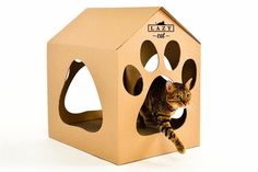Lazy House $34.95 CAD AVAILABLE @ WWW.LAZYCATSTORE.COM