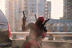 Suck on this! #deadpool #deadpool movie scene #wade wilson #ryan reynolds #funny moments deadpool