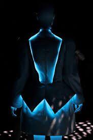 Lightning inspired dress