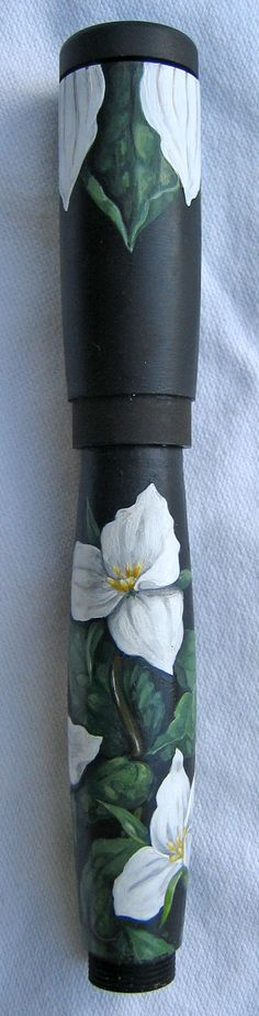 hand painted fountain pen