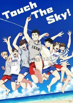 Kim Jinhwan, Hanbin, Ikon Wallpaper, Ikon Kpop, The Prince Of Tennis, Kpop Fanart, Yg Entertainment, Mamamoo, K Idols