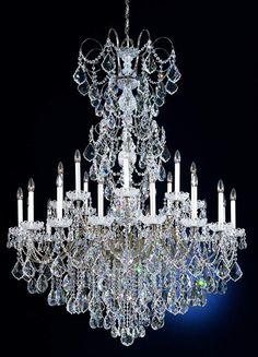 #SchonbekLacroy Collection 48 Wide Large #CrystalChandelier $22,649.91