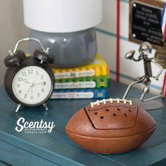 Football Scentsy Warmer #Touchdown #Scentsy #football #coachgift