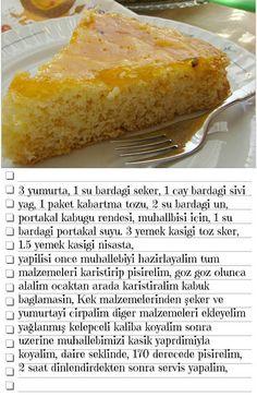 Sosuyla pişen kek ve hediyelerim - rumma - rumma