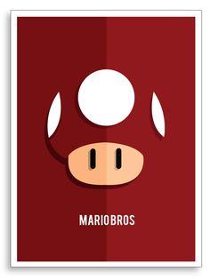 marion mushroom Marios universe By Sertuğ Erdoğan