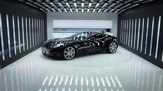 Aston-Martin-One-77-Latest-HD-Wallpapers-Free-Download Garage House, Dream Garage, Car Garage, Garage Lighting, Lighting Showroom, Underground Garage, Ultimate Garage, Luxury Garage, Garage Interior