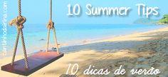 10 dicas para aproveitar o verão sem descuidar da beleza!