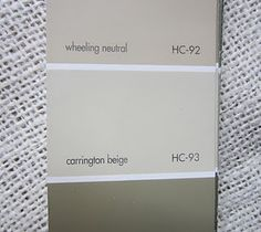 Benjamin Moore Carrington Beige  HC - 93 This is a perfect neutral color.  It's light and warm.  Not pink-ish and not too yellow.