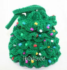 christmas+crochet+patterns+free+online | CHRISTMAS TREE COASTER Crochet Pattern – Free Crochet Pattern