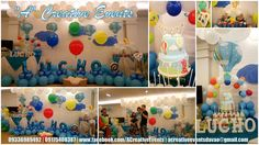 Lucho's Hot Air Balloon Themed Party         Athena Miel's Balloons, Bubbles and Party Needs          Athena Miel's Balloons, Bubbles and Party Needs