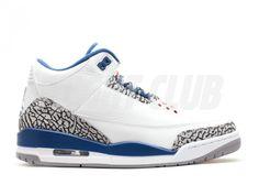"air jordan 3 retro ""true blue 2011 release"""