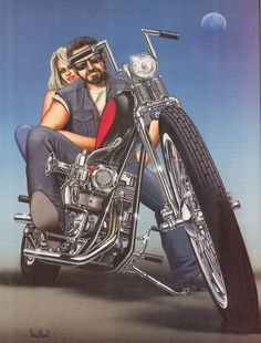 Artwork by David Mann