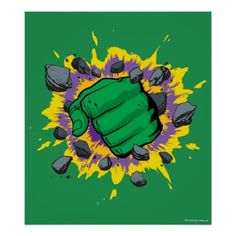 Hulk Fist Poster
