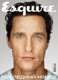 MATTHEW MCCONAUGHEY COVERS ESQUIRE UKRAINE JANUARY 2015 ISSUE
