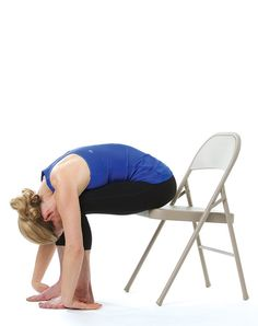 30 Minute Chair Workout For Seniors Table Top High Reviews 25 Best Yoga Images Poses Exercises Stress And Posture Purewow Full Body