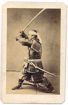 Samurai in full armour. The craftsmanship is amazing.